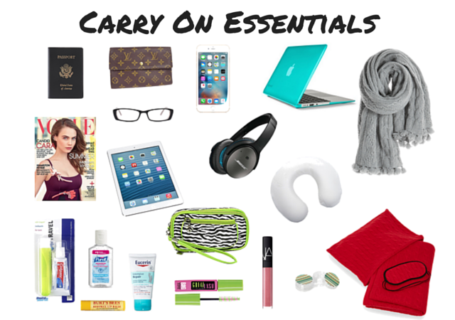 long flight carry on bag essentials list