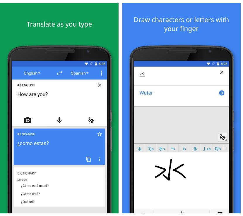 Google translate is a must have language translation app