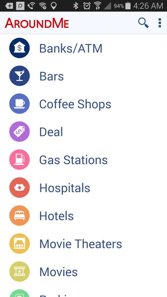 around me travel app