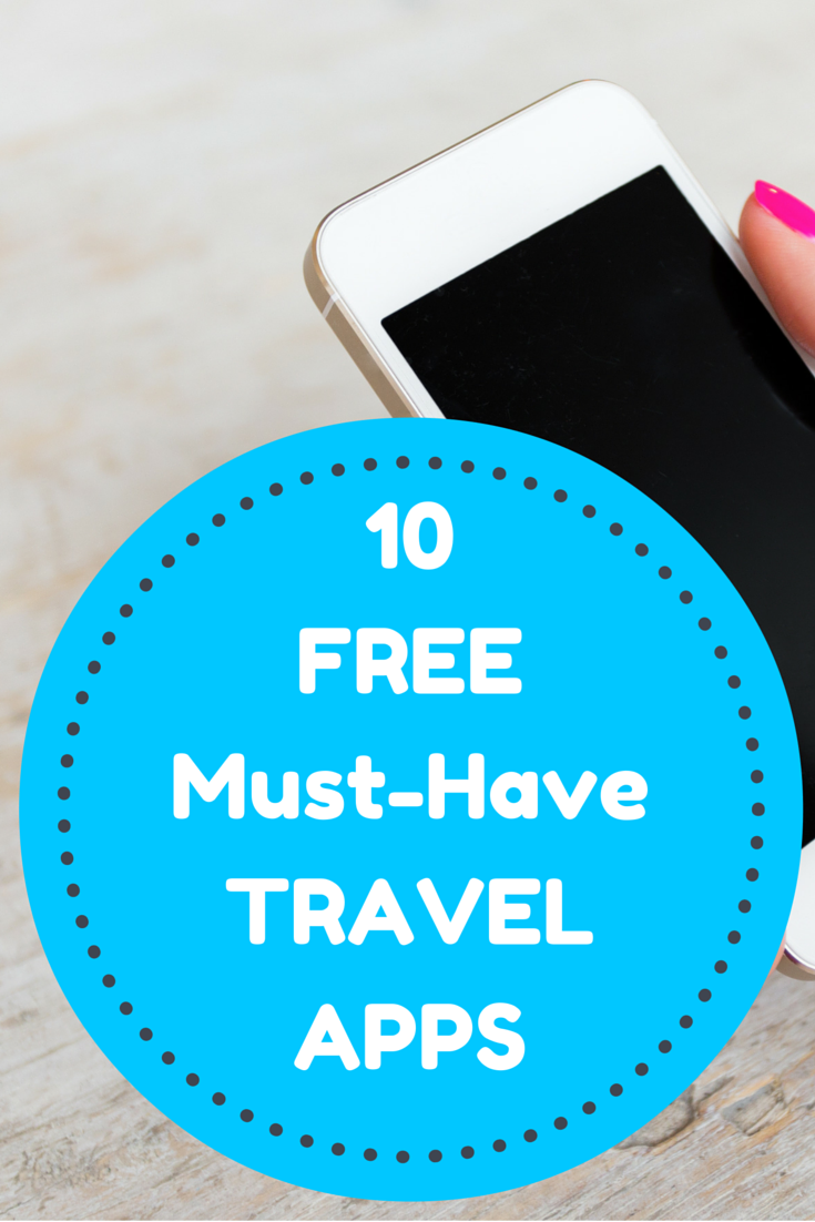 A list of the best FREE travel apps you must use on your next trip.