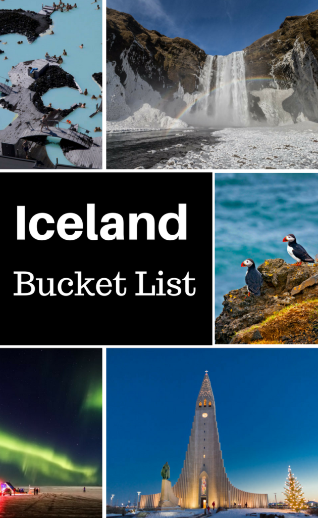 My Iceland Bucket List include these top things to do in Iceland.