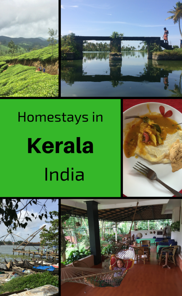 Homestays in Kerala State, Southern India