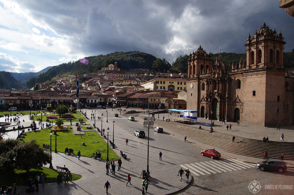 5 unmissable experiences in Peru: Plaza del Armas in Cusco