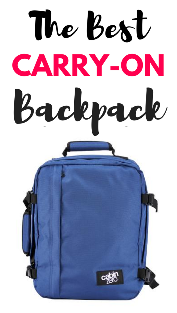 Cabin Zero Bag Review- The Best Carry-On Backpack