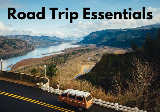 What to Pack for a Road Trip Checklist including Essentials Not to Forget