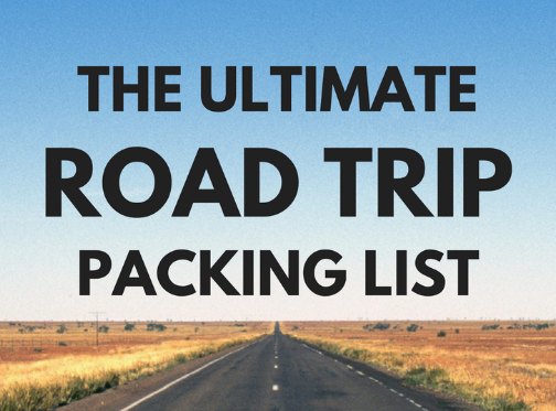 36dd9059bb6 What to Pack for a Road Trip  The Only Road Trip Packing List You Need