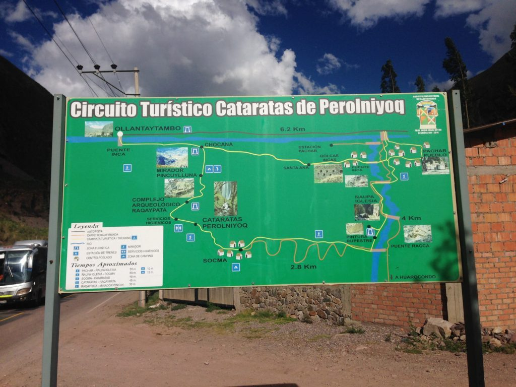 sacred valley tour itinerary Pachar Naupa Iglesia Map