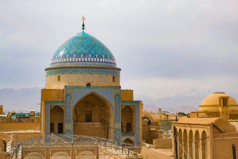 Amazing mud brick structures in Yazd makes my iran places to visit list