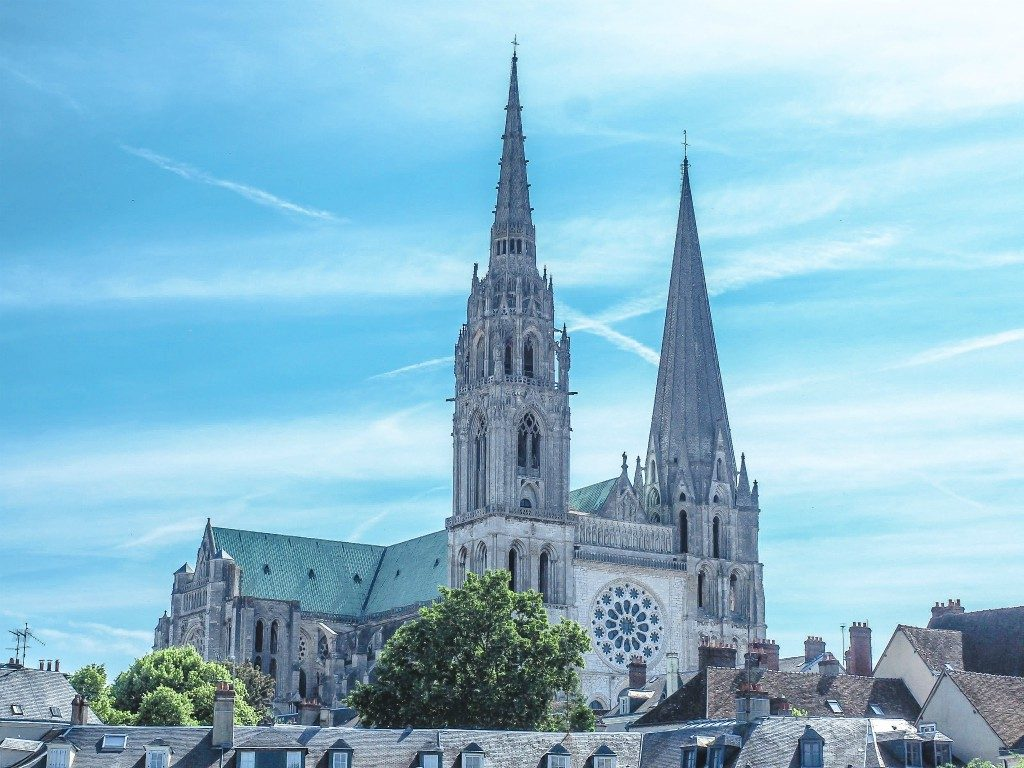 CHARTRES is one of the most beautiful villages in the loire valley