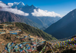 the himalayas are one of the most beautiful places to visit in Nepal