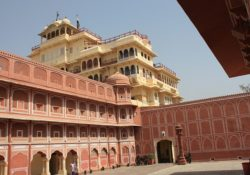 Pink City Palace in Jaipur