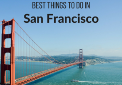 Best Things to do in san Francisco itinerary