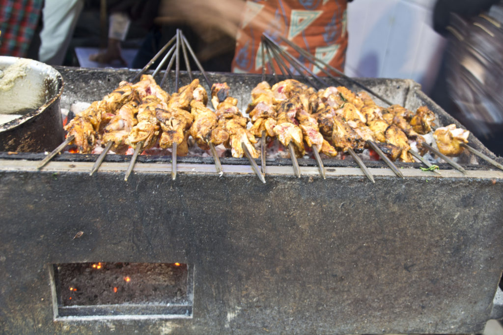 what to eat in new delhi india: Chicken Kabab