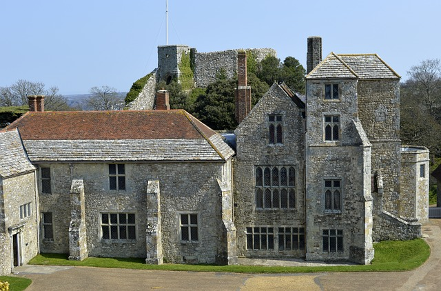 carisbrooke castle isle of wight england