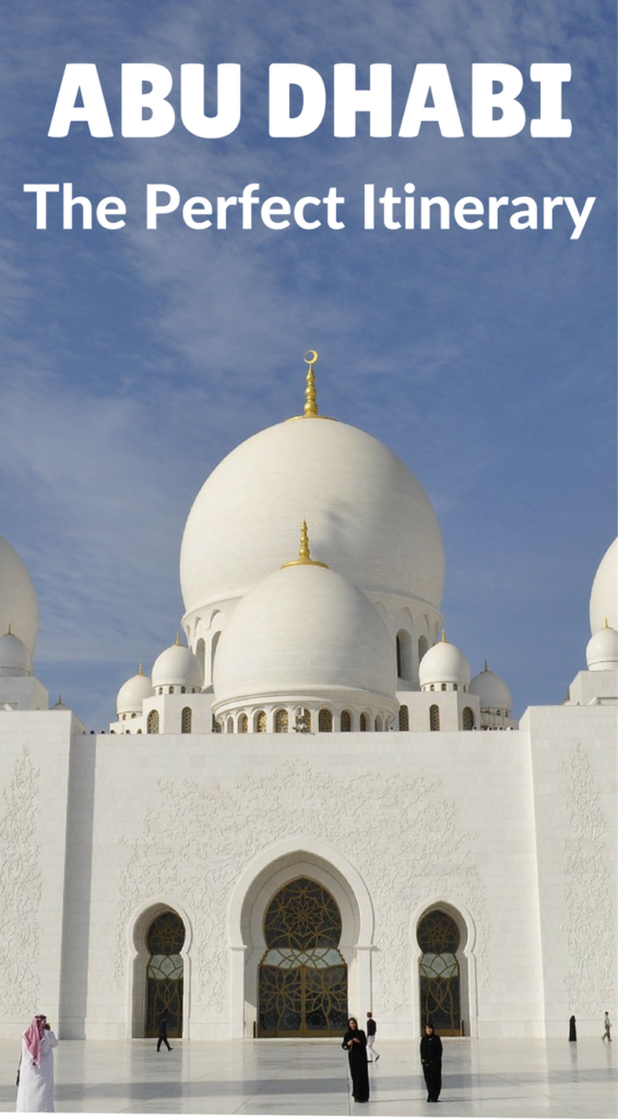 Only have 1 or 2 days in Abu Dhabi? We've put together the perfect itinerary for your stay including the best things to do and where to stay. #abudhabi #uae