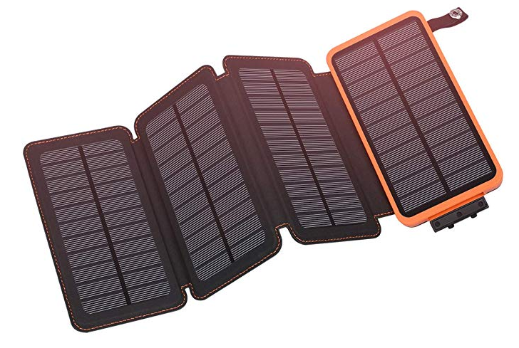 solar portable charger useful travel gift