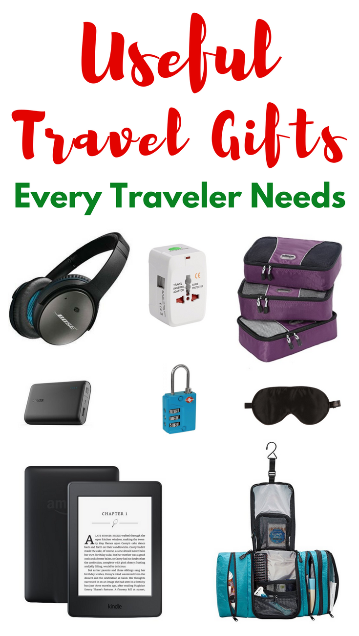 Practical and useful travel gifts that every traveler needs for Good gifts for a traveler
