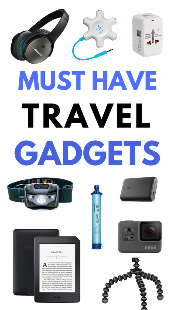 Must Have Travel Gadgets to use in 2018 and 2019 to make your travels easier, safer, comfortable and more enjoyable! ******Travel Gadgets | Travel Essentials | Best Travel Gadgets | Best Travel Gadgets Tech | Best Travel Gadgets Articles | Travel Gadgets Accessories | Travel Gadgets Accessories Products | Travel Products | Travel Products Must Have | Travel Products Gadgets | Best Travel Products | Travel Gear Gadgets | Best Travel Gear