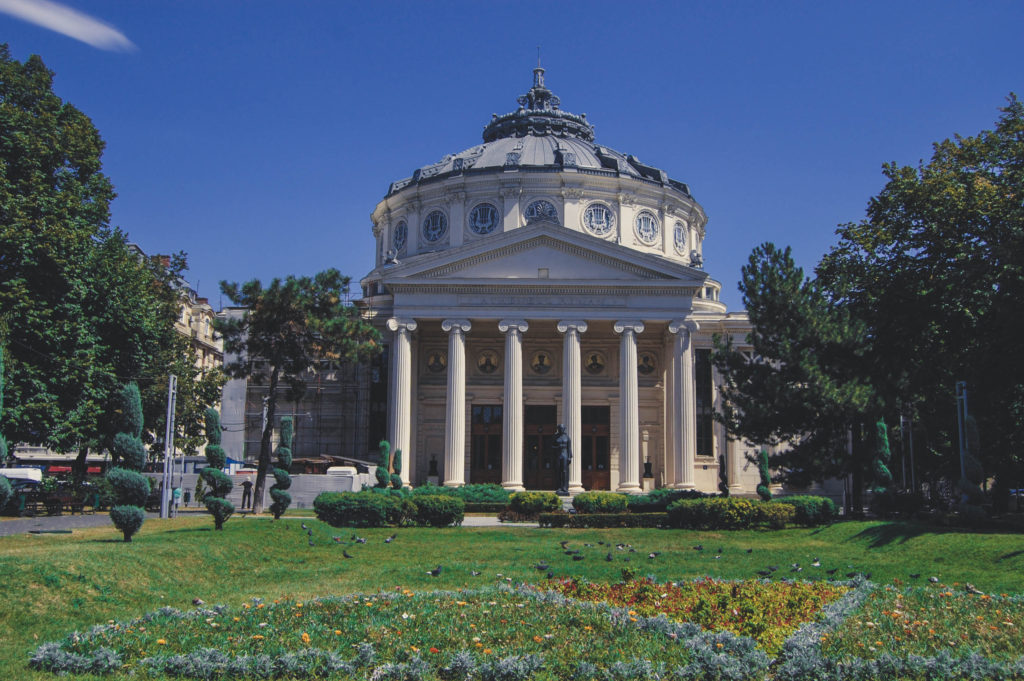 Atheneum one of the best places to see in Bucharest