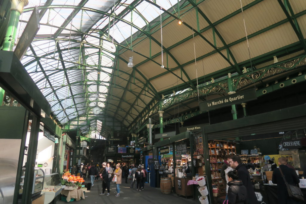 2 days in London itinerary Borough Market