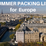 The Ultimate Packing List for Europe in Summer