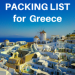 The Ultimate Greece Packing List