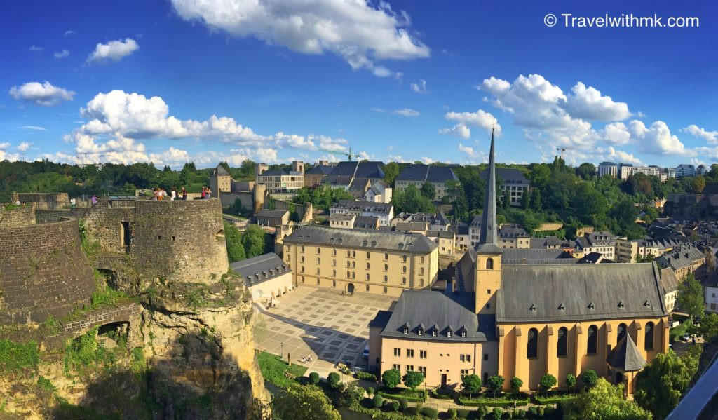 overlooked Luxembourg City