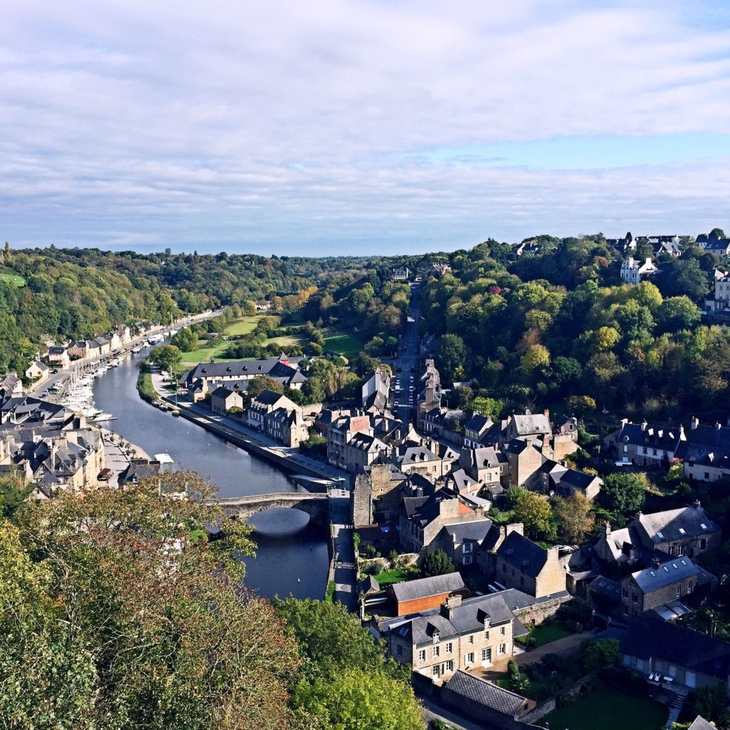 Dinan is a fairytale town in France