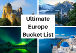 Ultimate Europe Bucket List