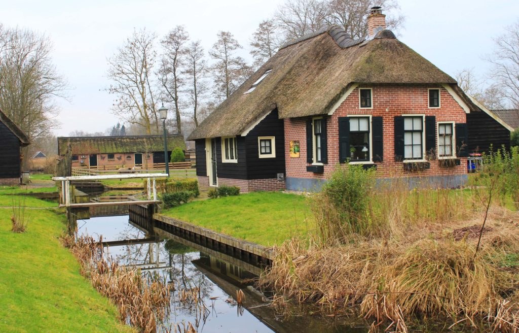 fairytale village of Giethoorn