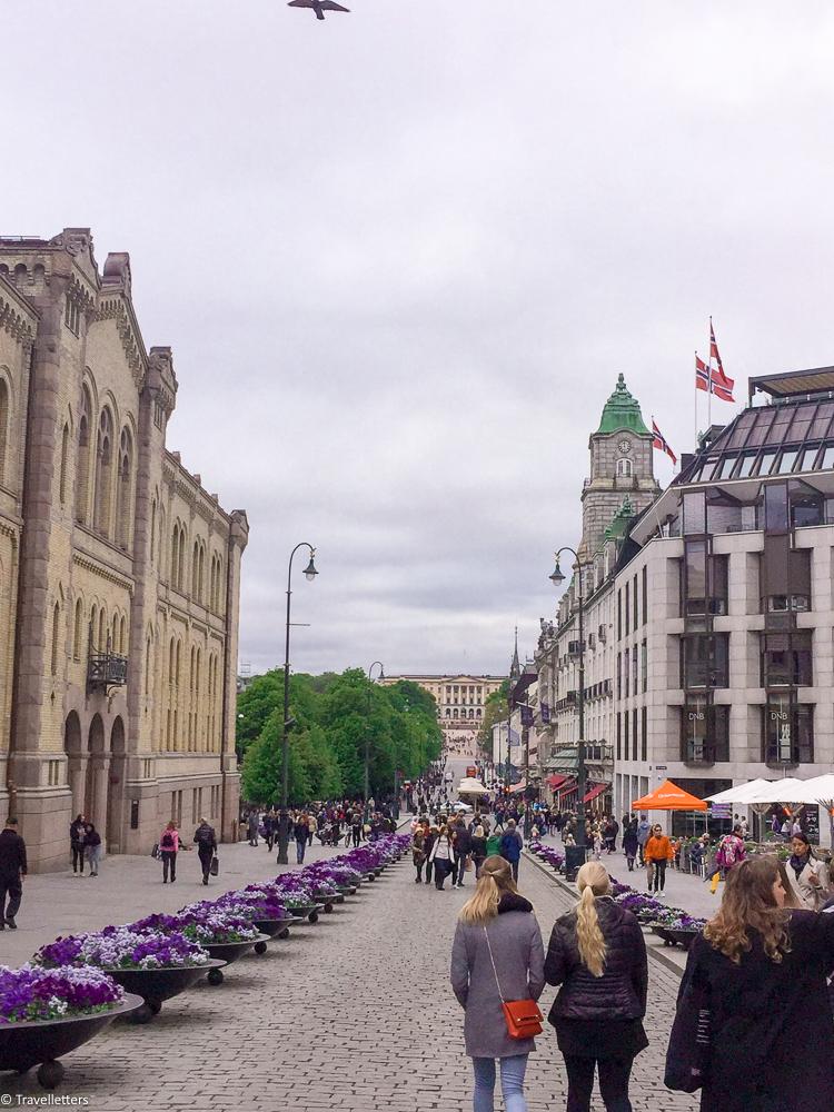 Main Street Karl Johan Oslo things to do