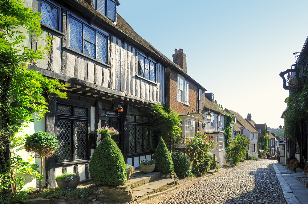 Rye is one of the most beautiful small towns in europe