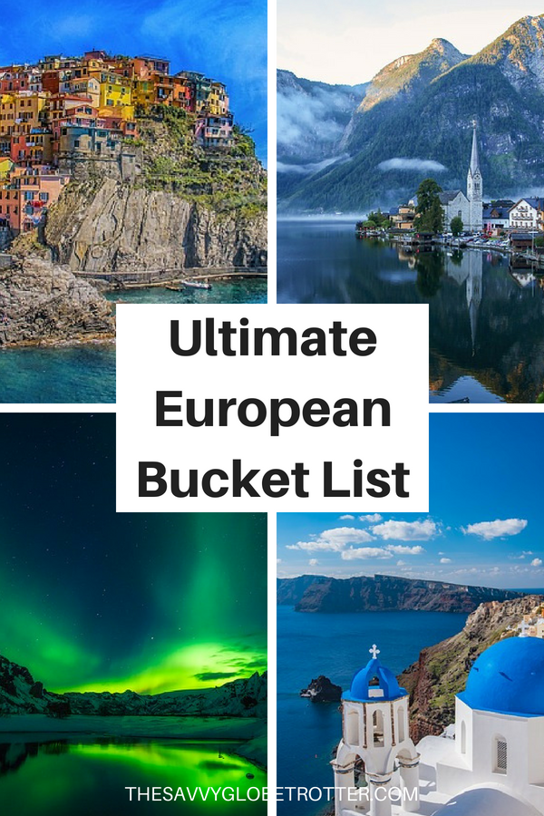 The Ultimate Europe Bucket List: 100+ Epic Things to Do in Europe