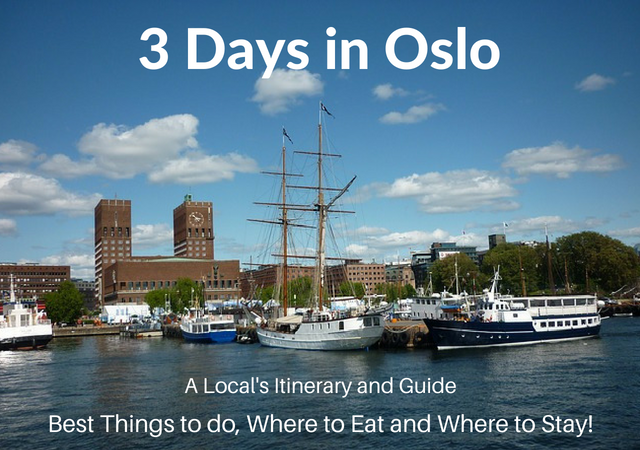 3 Days in Oslo Itinerary