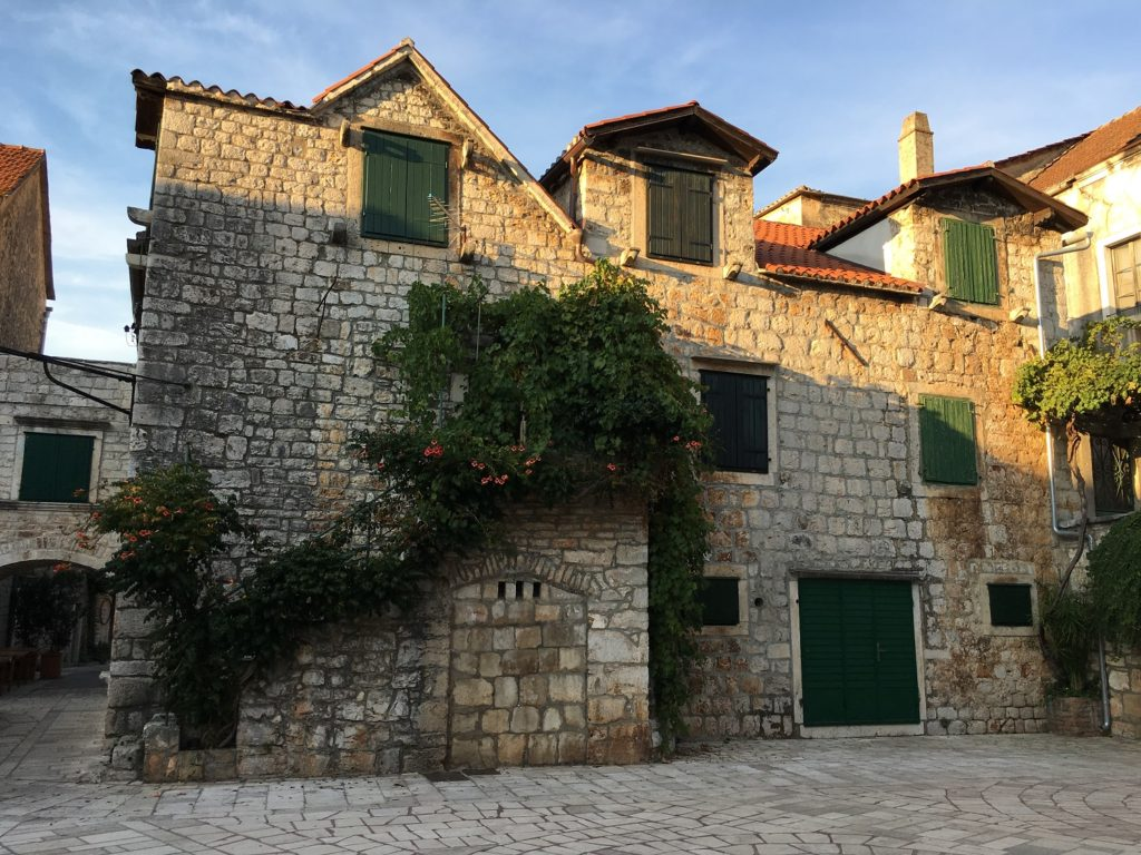fairy tale town of Stari Grad in Croatia