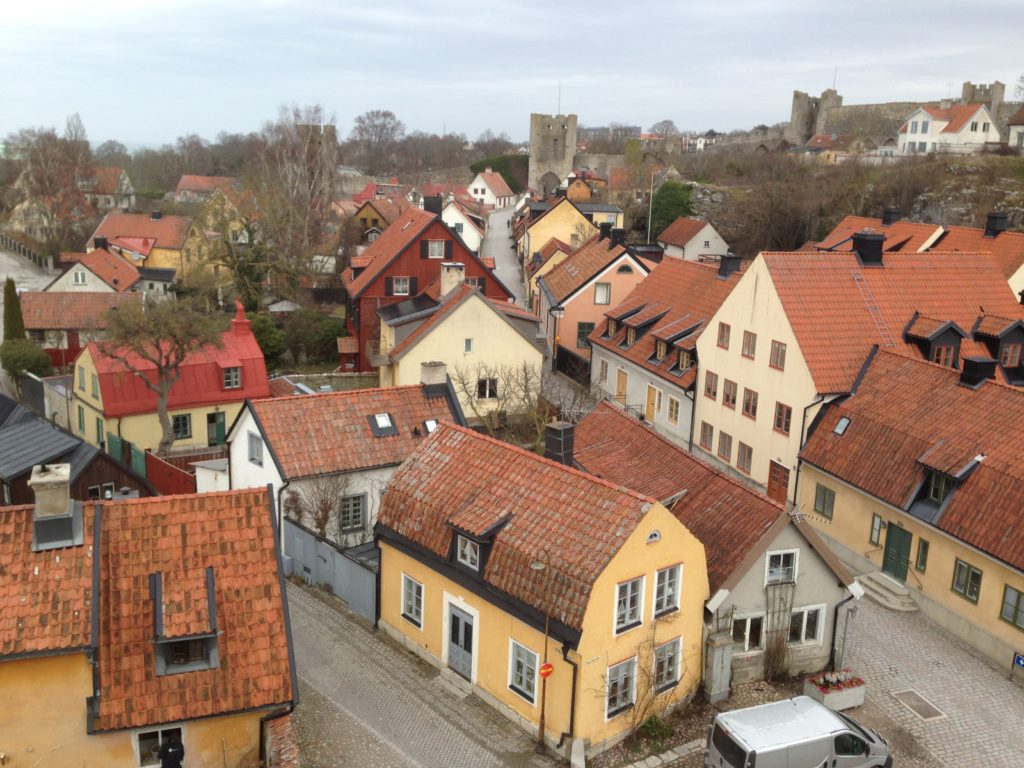 Visby one of the best small towns in europe