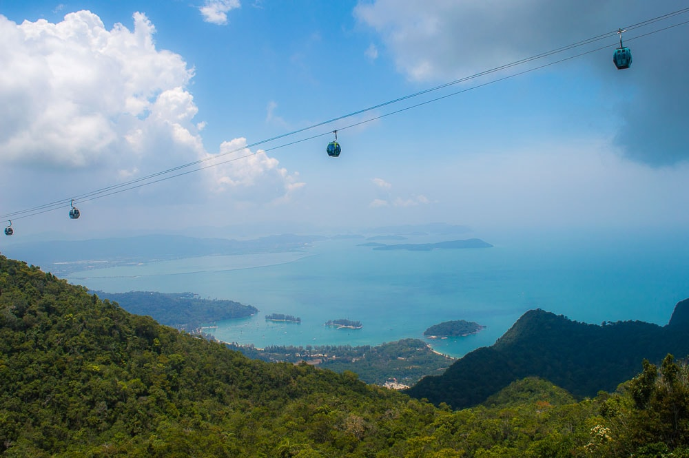 SkyCab is one of the top things to do in Langkawi