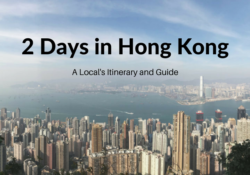 36 to 48 hours weekend in Hong Kong itinerary travel blog