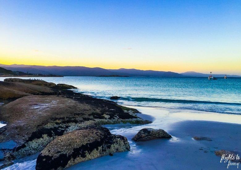 Bicheno Beach Australia roadtrip