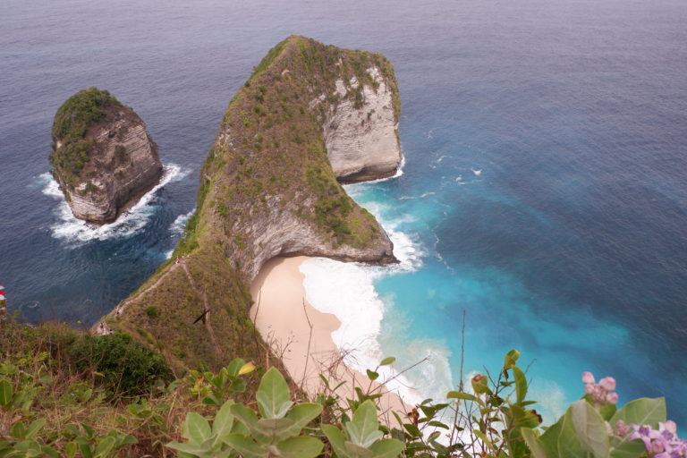 Kelingkling Beach one of the best places to visit in Nusa Penida bali