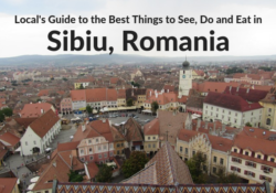 Best Things to See, Do and Eat in Sibiu Romania