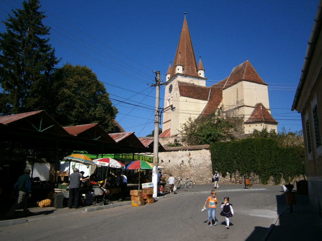 Cisnădie the fortified church one of best things to do in Sibiu Romania