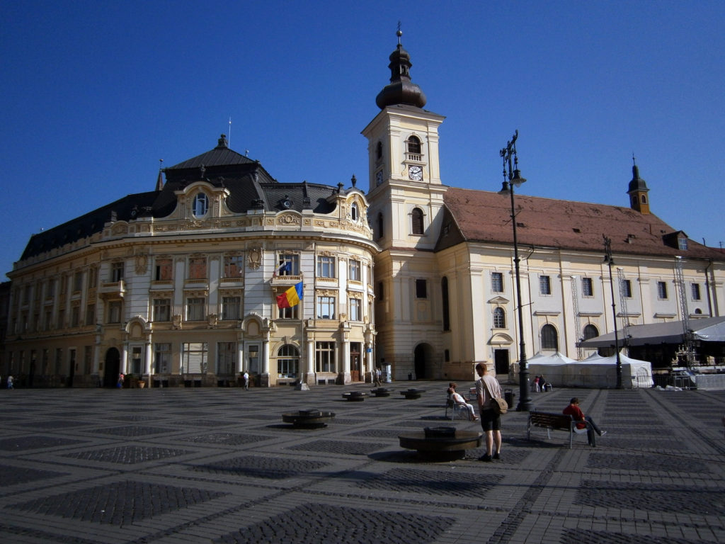 Sibiu Upper Town the Large Square what to do in sibiu romania