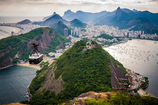 sugar loaf mountain is one of the best places to visit in brazil