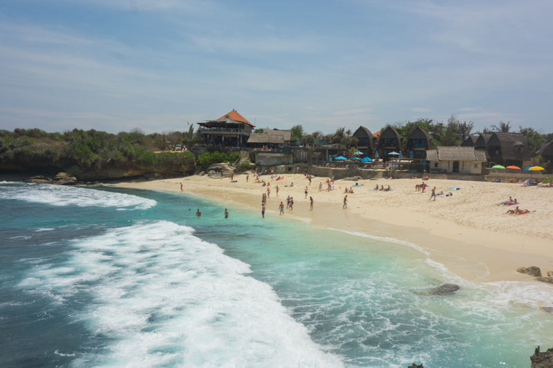 Beach Nusa Lembongan travel blogs