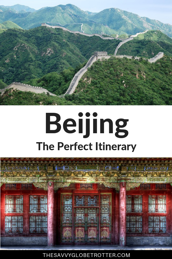 Beijing China Itinerary 3 Days