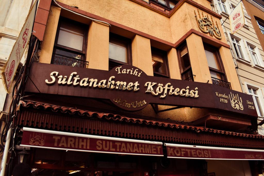 Tarihi Sultanahmet Kofteci what to eat in istanbul