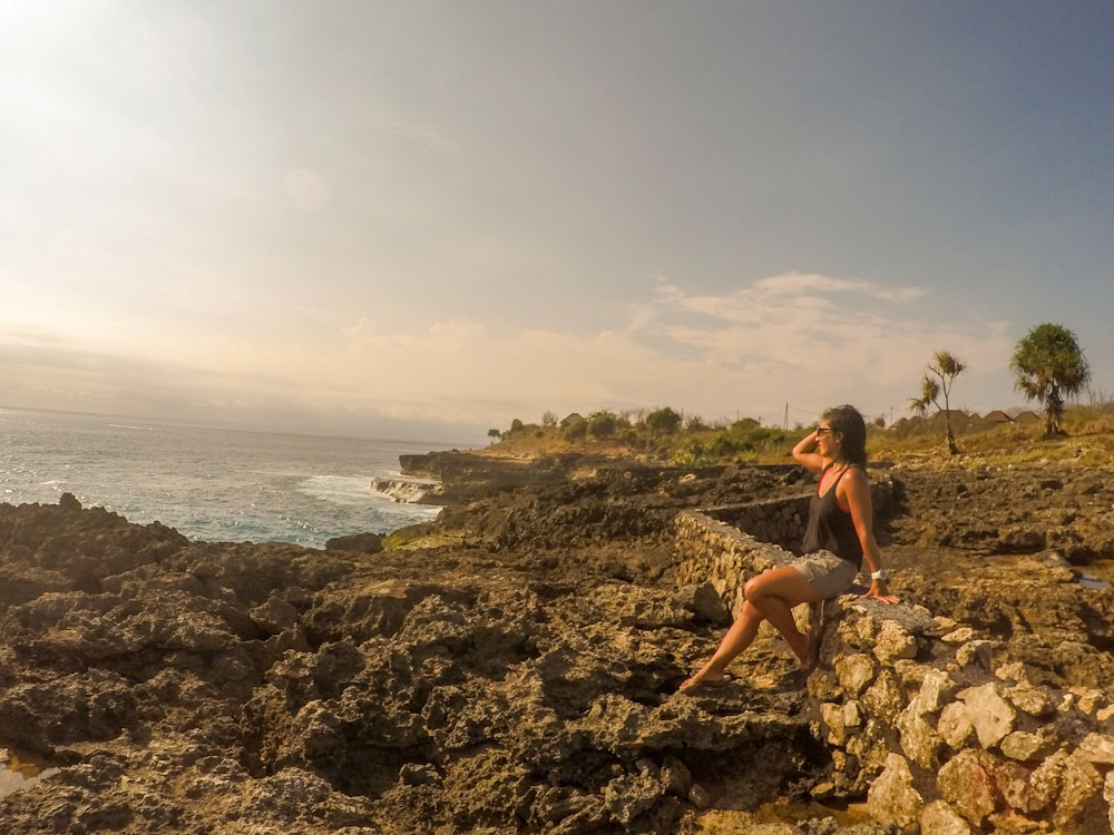 secret spot found when I got lost Nusa Lembongan travel blog