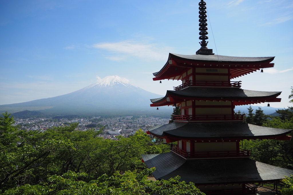 Kawaguchiko day trip from tokyo