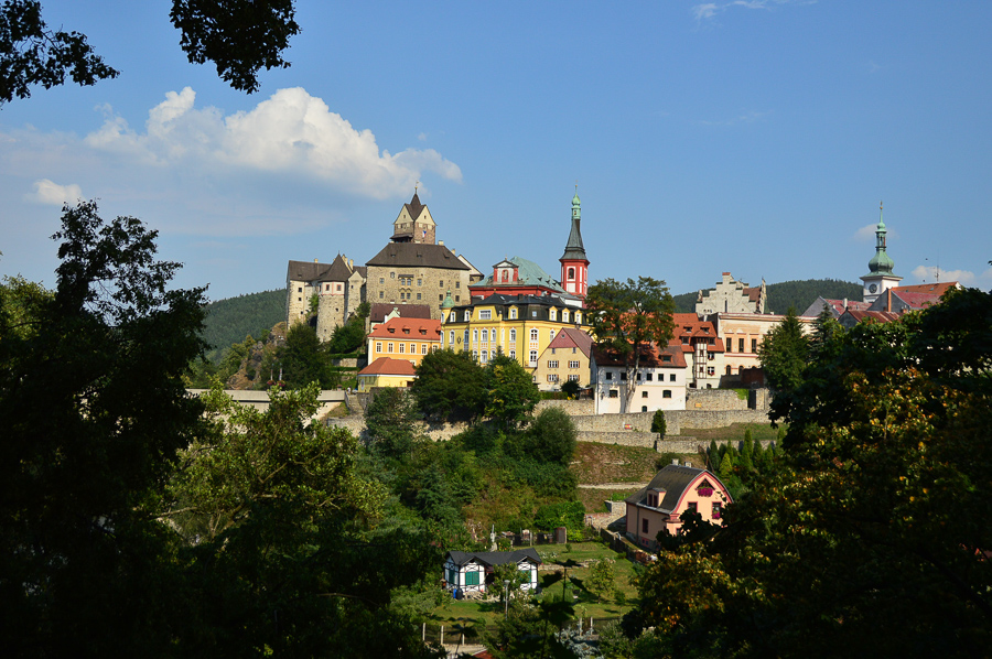 Loket fairy tale town in Czeck Republic